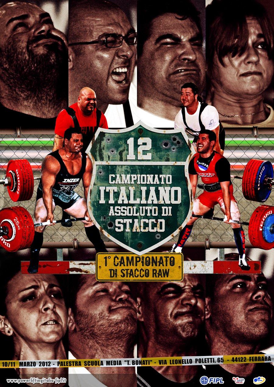 xxii campionato italiano assoluto di stacco da terra