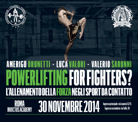 POWERLIFTING FOR FIGHTERS?