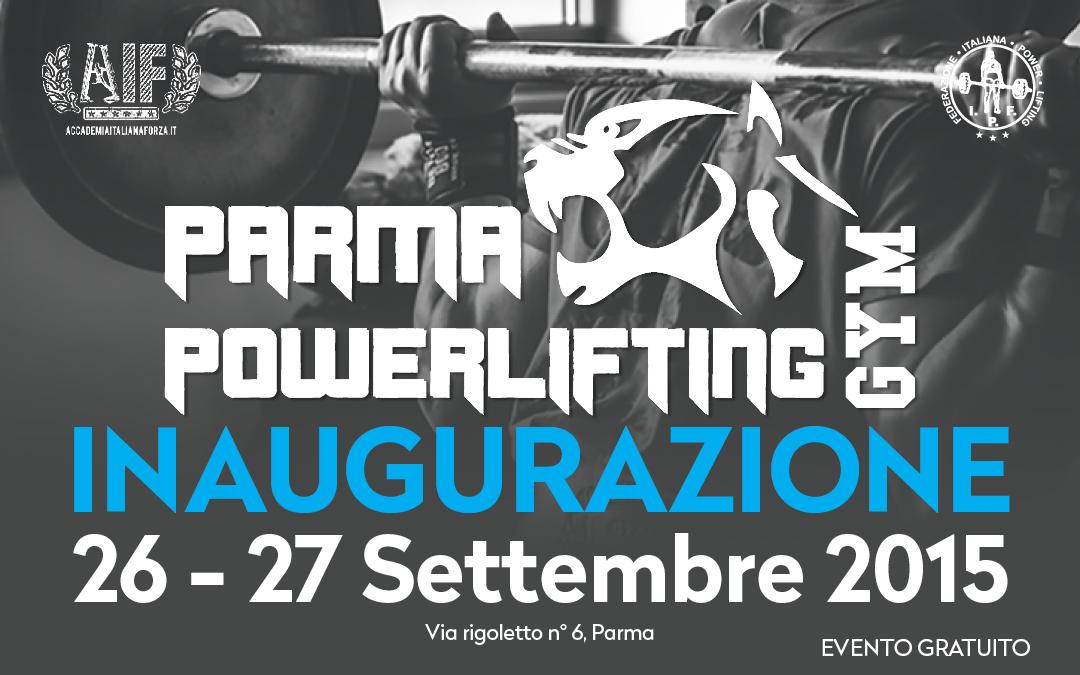 "Inaugurazione ""Parma Powerlfting Gym"""